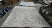 Ivory / Silver 9and039 X 12and039 Back Stain Rug Reduced Price 1172617472 Adrw109c-9