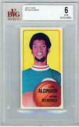 Lew Alcindor Bvg Beckett 6 1970 Topps Centered / Great Coloring
