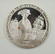 Cook Islands 1 Dollar Unc England Expects That Every Man Will Do His Duty - E