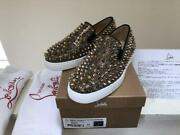 Christian Louboutin Spike Slip-ons Sneakers Flat Shoes Womenand039s Eu 37 From Japan