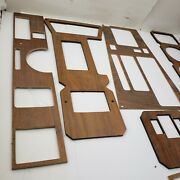 Vintage 80's Real Wood Trim Dash Accent Assorted Lot Chevy Ford Dodge Truck Car