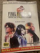 Final Fantasy Viii Complete Official Strategy Guide Best Buy Exclusive Euc Rare