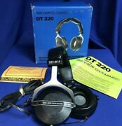 Beyer Dynamic Dt220, Vintage Dynamic Stereophone - New Old Stock
