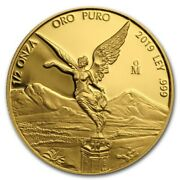 Libertad – Mexico – 2019 1/2 Oz Proof Gold Coin In Capsule
