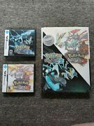 Pokemon Black And White Version 2 Authentic Nintendo Ds W/sealed Collectors Guide
