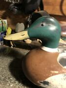 Vintage 1967 Victor D-9 Duck Decoy Mfgandrsquod By Woodstream Lititz Penna. U.s.a.