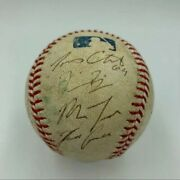 2010 Mike Trout Signed Pre- Rookie Game Used Ball. Super Rare