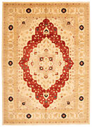 Vintage Hand-knotted Carpet 10and0392 X 13and0399 Traditional Oriental Wool Area Rug