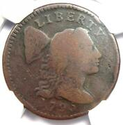 1795 Liberty Cap Large Cent 1c Coin S-76a R5 - Ngc Vg Detail - Rarity-5 Variety