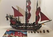 Lego 4195 Queen Anne's Revenge Pirates Caribbean 100 Complete With Instructions