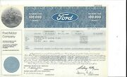 Ford Motor Company......1977 Common Stock Certificate