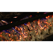 New Regal Flame Platinum 7 Oz Bright Rock Wool Gas Fireplace Glowing Embers