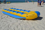 New Island Hopper Bt-12 Elite Class 12 Passenger 19and039 X 8and039 Banana Taxi Water Sled