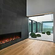 New Modern Flames Landscape Pro Slim Built-in Electric Wall Fire Place