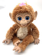 Furreal Friends Cuddles My Giggly Full Size Monkey Hasbro Electronic Toy Works