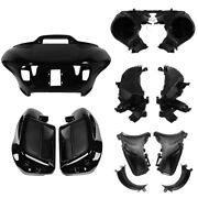 Lower Vented Fairing Storage Glove Box Air Duct Fit For Harley Road Glide 15-21