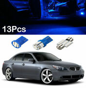 13x Auto Car Interior Led Lights Dome License Plate Bulbs Kit Accessories 8000k