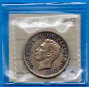 Canada 1946 1 One Dollar Silver Coin - Iccs Ms-62