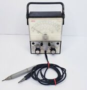 Vintage Rca Wv-500b Analog Multimeter Voltohmyst Voltmeter As-is Free Shipping
