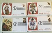Collection Of First Day Covers Xmas 2008 12 Nutcracker, Madonna 1 Cover K-42