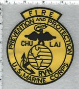 U.s. Marines Chu Lai Rvn Fire Prevention And Protection Vietnam - 1965-1970 - Rare