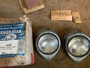 1937 Ford Nors Head Light Sealed Beam Conversion Kit Autopart Brand Lu-690
