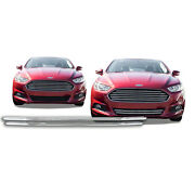Free Shipping 2013-2016 Ford Fusion Chrome Snap On Grille Overlay 120b