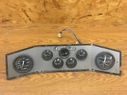 Playtime Marine Dashboard Panel With 6 Instruments Gauges