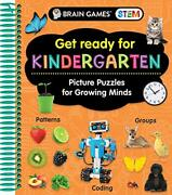 Brain Games Stem - Get Ready For Kindergarten Picture Puzzles For Growing Mi…