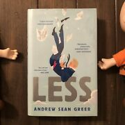 Less Andrew Sean Greer First Printing Winner Of Pulitzer Prize