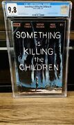 Something Is Killing The Children 1 Cgc 9.8 Cover A 1st Print Boom, Nm Tynion