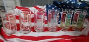 Vintage 6 Glass Tumblers Drink Coca-cola / Things Go Better With Coke