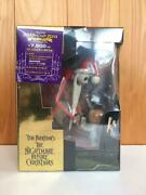 Tim Burton Nightmare Before Christmas Limited Dvd Box With Figure 1/10000 Sealed