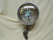 Original Firestone Super Ray 7 7/8andrdquo Driving Light Passing Lamp W/ Bracket Guide