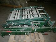 Ashland 3and039 Spring Assisted Roller Conveyor Gate - 16 Bf - 1-3/8 Roller Dia.