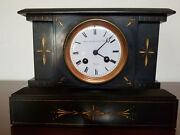 Antique 1860andrsquos French Movement Mantle Clock Sold Under A Private Label Rights