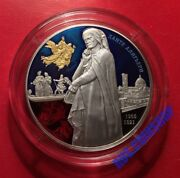 25 Roubles 2015 Russia 750th Anniversary Of Birthday Of Dante Alighieri Rare