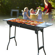 Stainless Steel Barbecue Oven U Type Bbq Tong Charcoal Large/small Mesh Grill Us