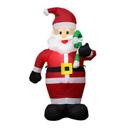 7.8ft Christmas Giant Inflatable Led Lightup Santa Claus Decoration Outdoor X S1