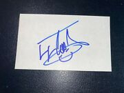Ll Cool J - Signed 3x5 Index W/proof - 2021 Rock And Roll Hall Of Fame Inductee