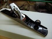 Magnificent Stanley Number 7 Plane Lightly Used With Massacar Ebony Handles