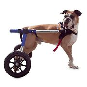 Refurbished Dog Wheelchair - For Large Dogs 70-180 Lbs - By Walkinand039 Wheels