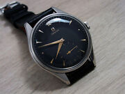Omega Large Vintage Menand039s Watch Manual Sub Seconds