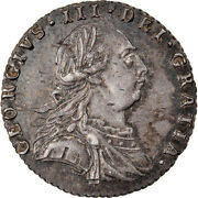 [877995] Coin, Great Britain, George Iii, 6 Pence, 1787, London, Au, Silver
