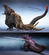 S.h. Monster Arts Godzilla 2016 Premium Bandai Limited Edition Second Form 3rd