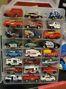Hot Wheels/matchbox Loose You Pick Case 44 Emergency Vechiles Police Fire Dpt