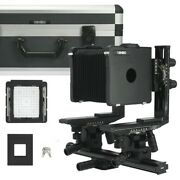 Cambo 4x5 Master Plus View Camera Large Format W/ Case / Sold As Is No Return