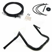Fit For 14-17 Harley Touring Batwing 14handlebar Abs Cable Kit Extension Wiring
