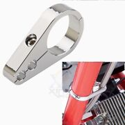 Motocycle 1 Handle Bar Black Dual Throttle Cable Wire Clamp Clutch For Harley