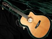 Morris Sc-61 Hand Made Premium In Japan Maurice Acoustic Guitar Cutaway Outlet